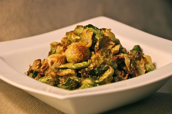Chosen Eats: Crispy, Salty, Spicy Brussels Sprouts
