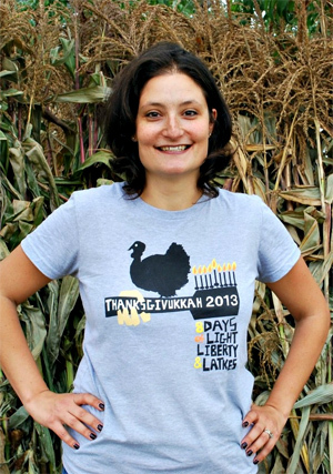 Four Questions with Dana Gitell, Creator of Thanksgivukkah.com