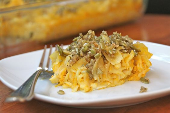 Chosen Eats: Thanksgivukkah Recipe - Pumpkin Kugel