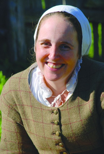 Four Questions with Malka Benjamin, Pilgrim at Plimouth Plantation