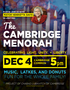Cambridge Menorah Lighting with Mayor Henrietta Davis