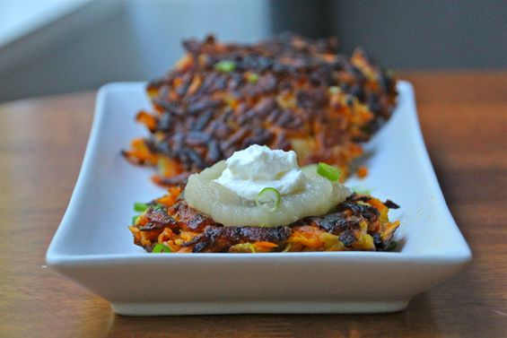 Chosen Eats: Thanksgivukkah Recipe - Sweet Potato Latkes