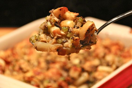 Chosen Eats: Thanksgivukkah Recipe - Challah Stuffing