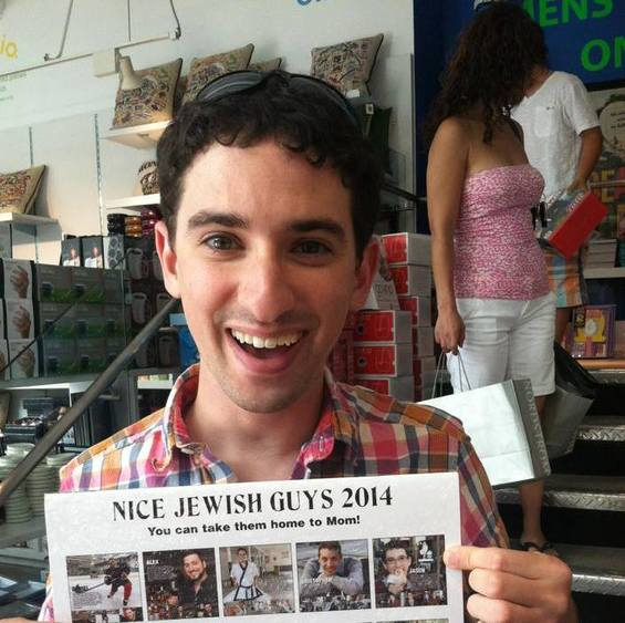 Four Questions with Jason Horowitz, Nice Jewish Guy Calendar Pin-Up
