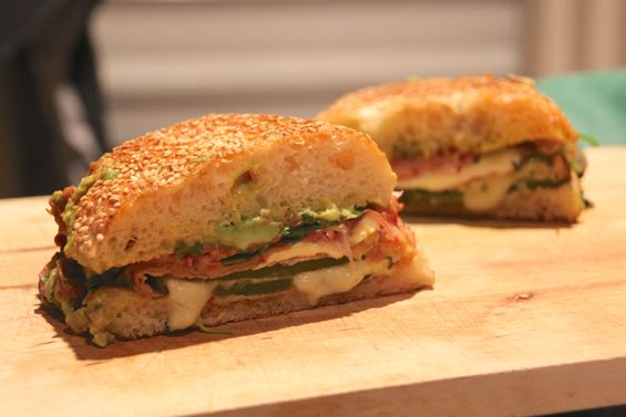 Chosen Eats: Chile Relleno Pressed Sandwich
