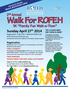 """Walk for ROFEH"" 5K Family Fun Walk-a-thon"