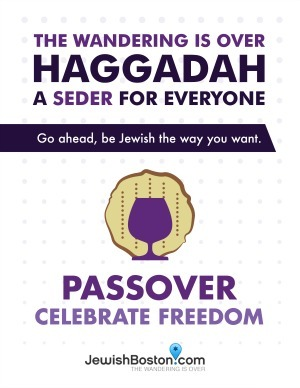 "JewishBoston.com's ""The Wandering Is Over Haggadah"" Free PDF Download"