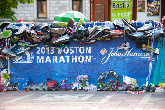 This year's Boston Marathon, and the anniversary of last year's bombing, is during Passover—how do we feel about that?