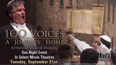 "At A Theater Near You:  ""100 Voices:  A Journey Home"""