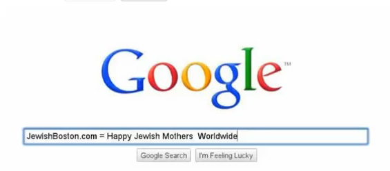 VIDEO CONTEST: Making Jewish Mothers Happy Worldwide