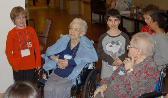 Rashi Mitzvah Makers: Forging Multi-Generational Connections