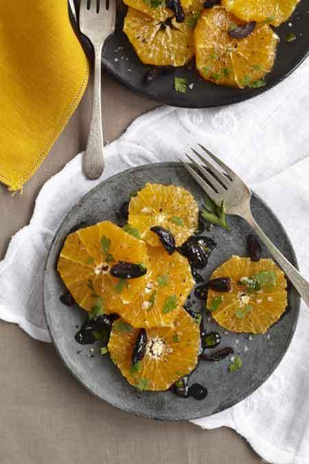 Moroccan Orange and Olive Salad