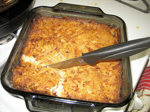 Cousin Ronnie's Passover Potato Kugel