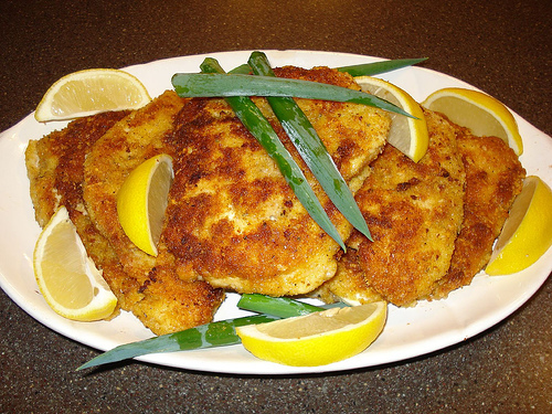 'Breaded' Chicken Cutlets for Passover