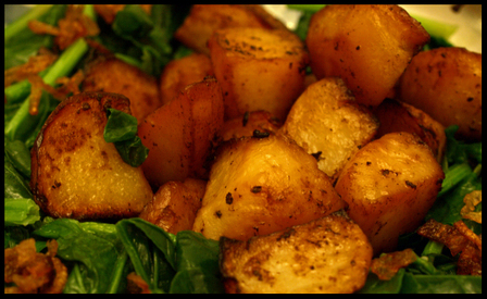 Liz's Roasted Potatoes with Garlic