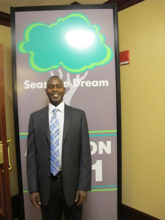 Meet John: a JFS Resettlement Client who shared his story at Seas the Dream 