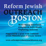 Reform Jewish Outreach Boston