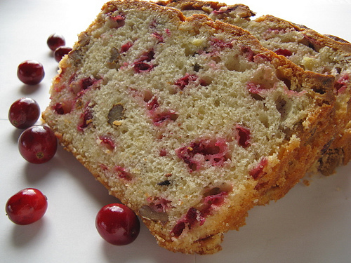 Are You Ready for Some Football? Sukkot Cranberry Bread