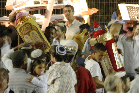 Boston Celebrates Simchat Torah