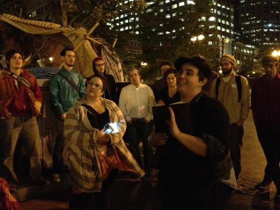 Occupy Judaism Gains Support, Recognition at Occupy Boston