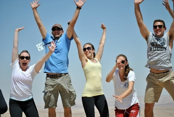 Go to Israel with CJP's Boston Community Birthright Israel Trip