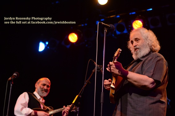 Jews About Town: The Boston Jewish Music Festival Presents Andy Statman & David Grisman