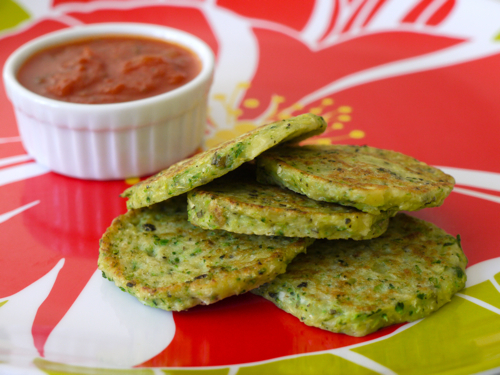 Kid-Friendly Seder Menu: Green Veggie Pancakes