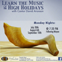 Learn the Music of the High Holidays with Cantor David Aronson