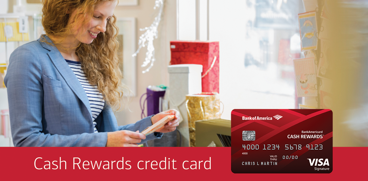 Cash back anytime, anywhere - Bank of America 2018-02-17 16:47