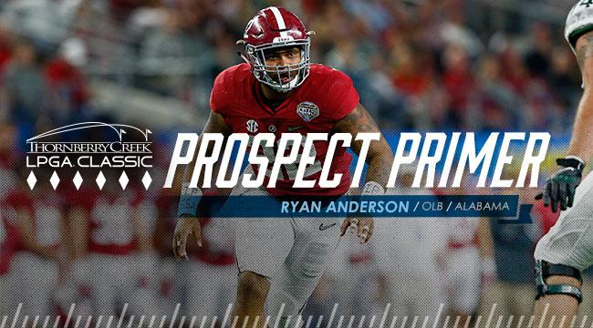 Prospect Primer: OLB Ryan Anderson, Alabama