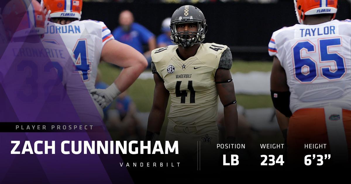 Prospect Profile: Vanderbilt LB Zach Cunningham