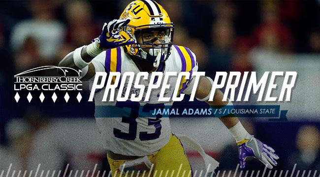 Prospect Primer: S Jamal Adams, Louisiana State
