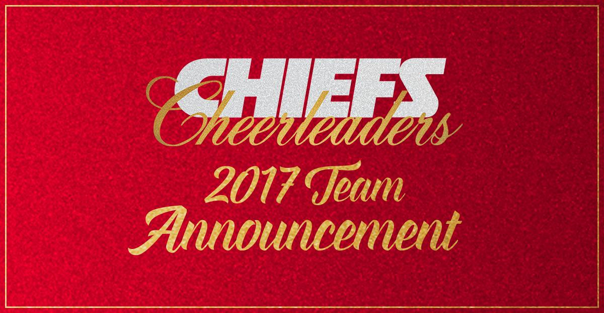 The 2017 Chiefs Cheerleading Squad Has Been Announced