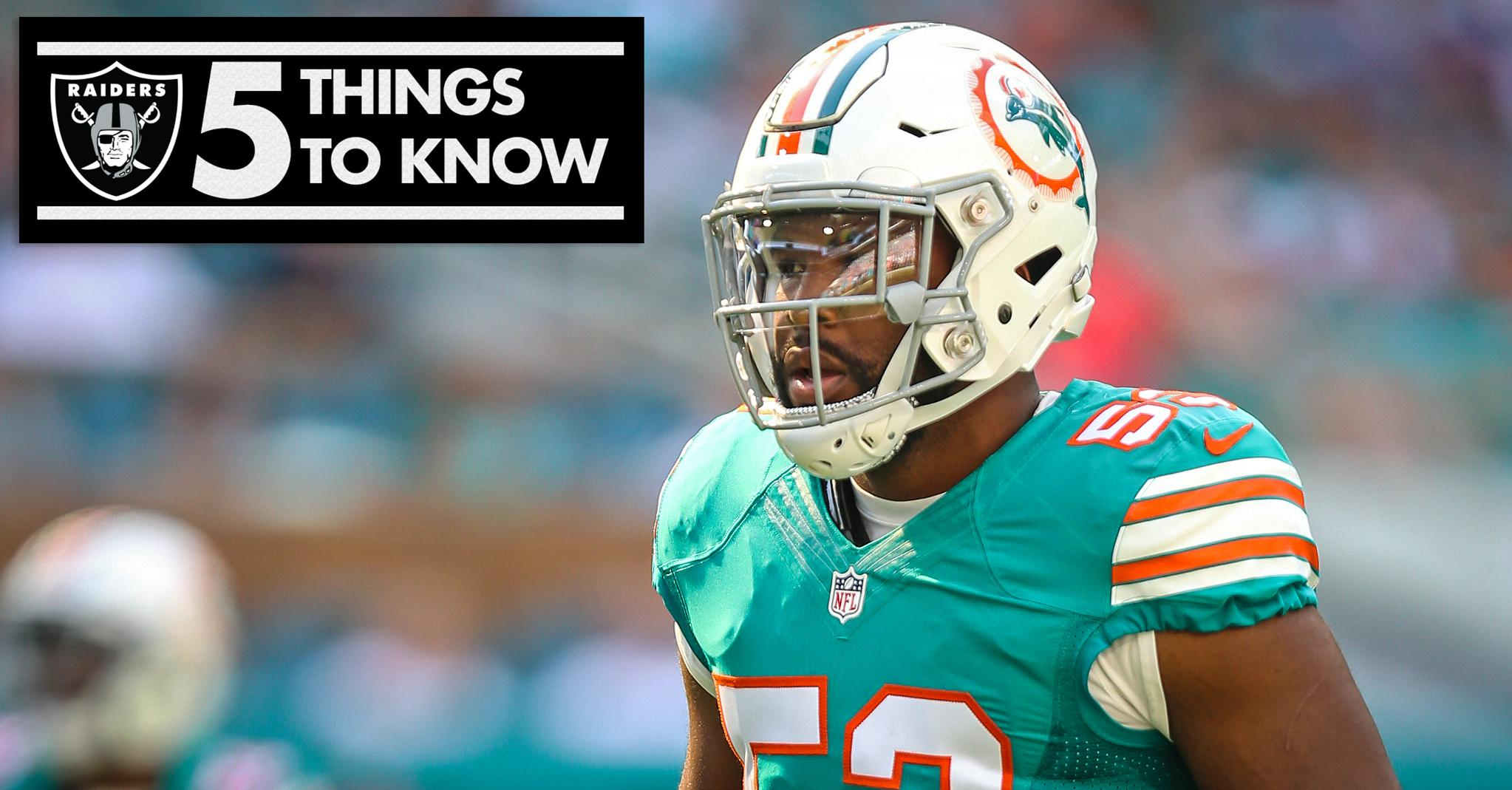Five Things To Know About Linebacker Jelani Jenkins