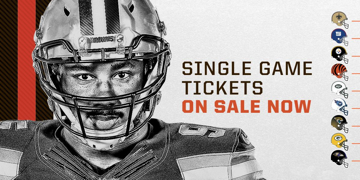 Single Game Tickets on Sale Now!