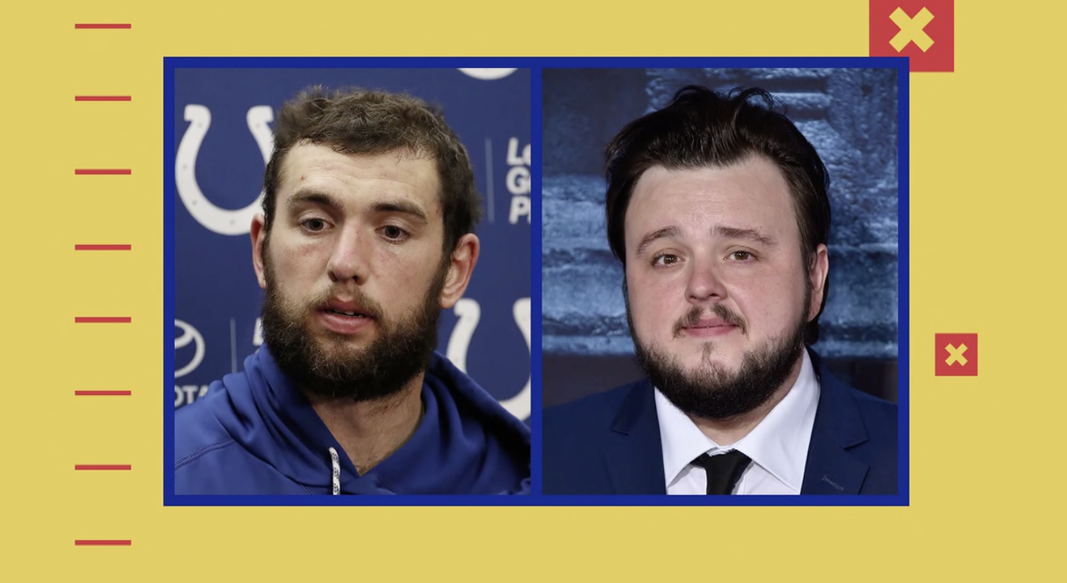 [VIDEO] Andrew Luck compared to a 'Game of Thrones' character