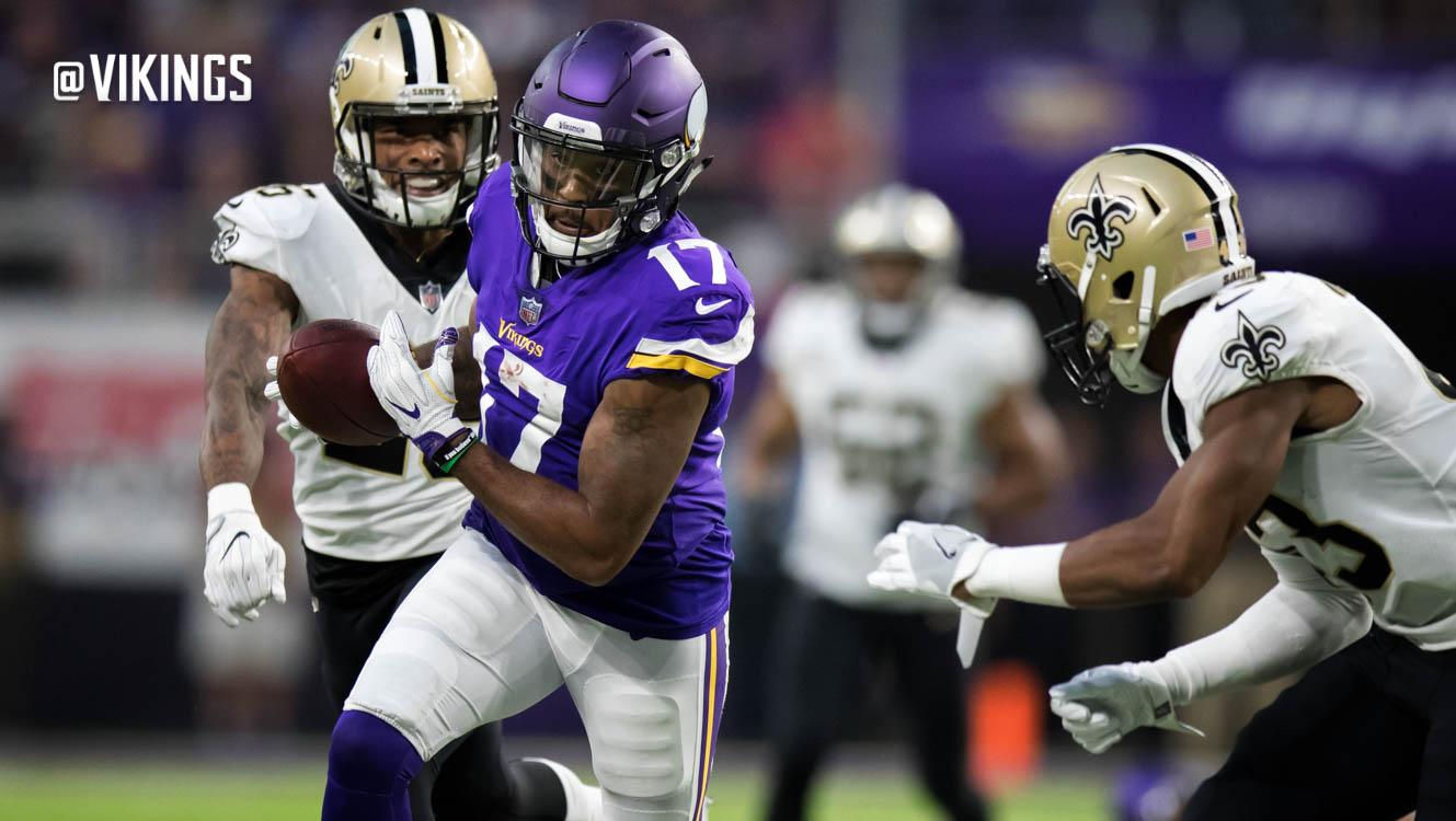10 Numbers of Note: Vikings Offense Leads NFL in 3rd-Down Success