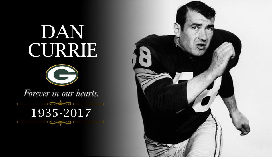 Former Packers linebacker Dan Currie dies at 82
