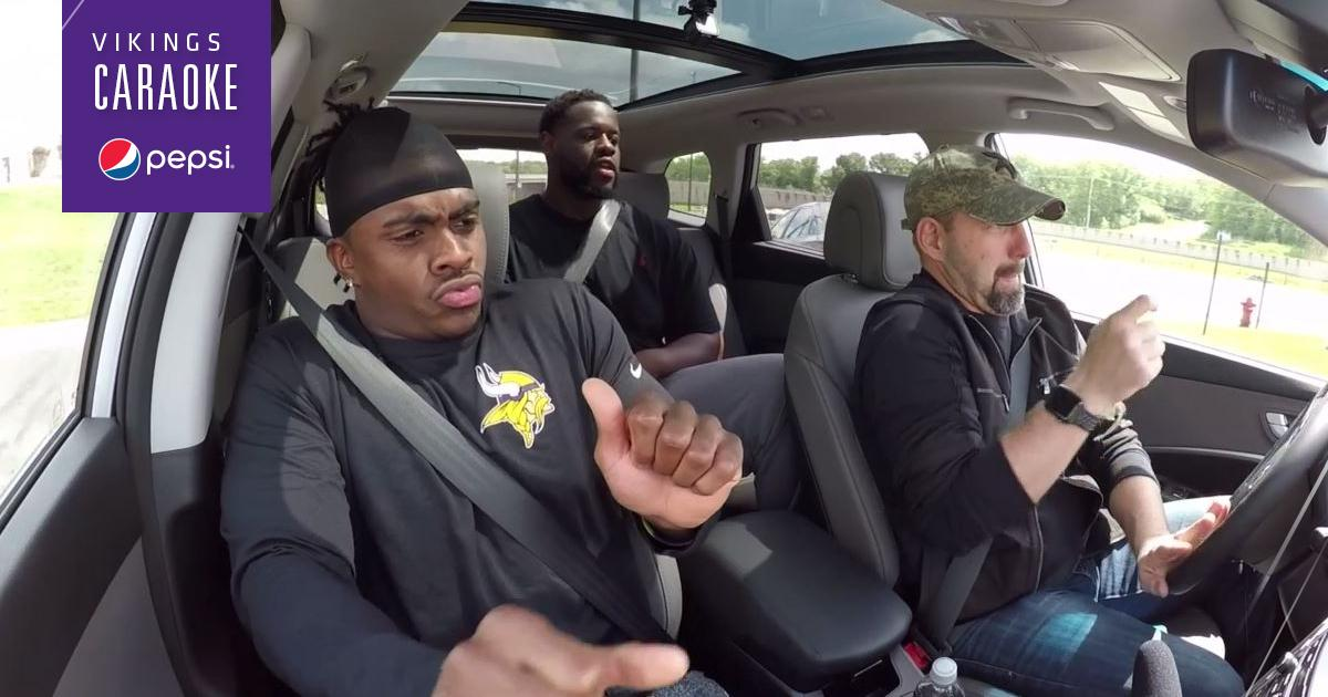 Vikings CARaoke: Jerick McKinnon and Shamar Stephen