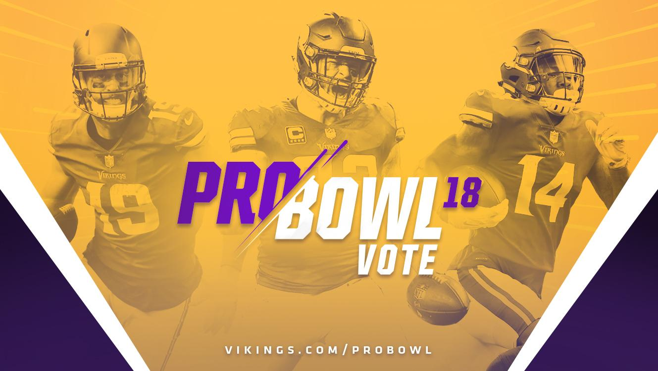 Vote Vikings For The 2018 Pro Bowl