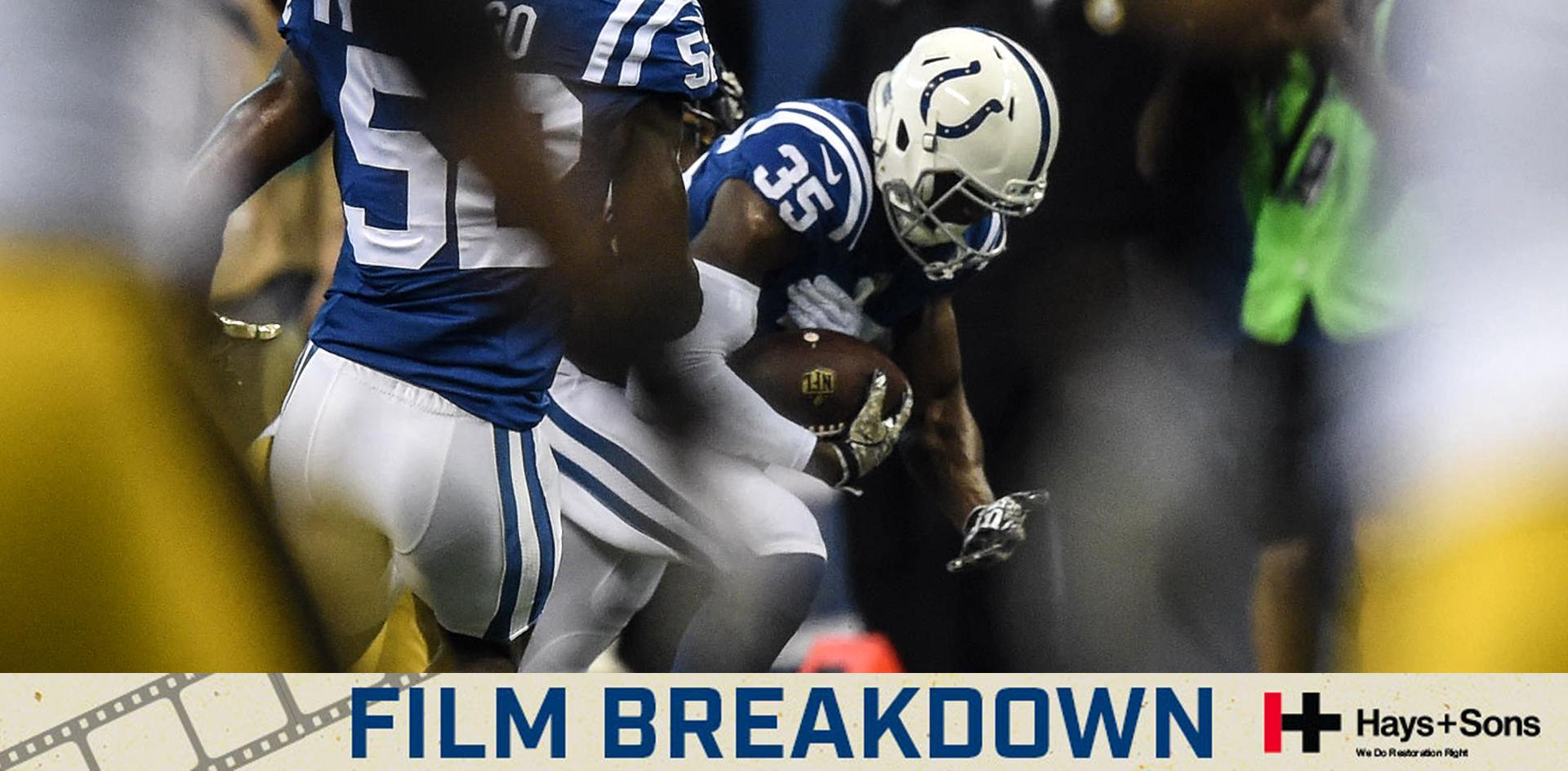 Colts Film Breakdown: Pierre Desir Picks Off Big Ben