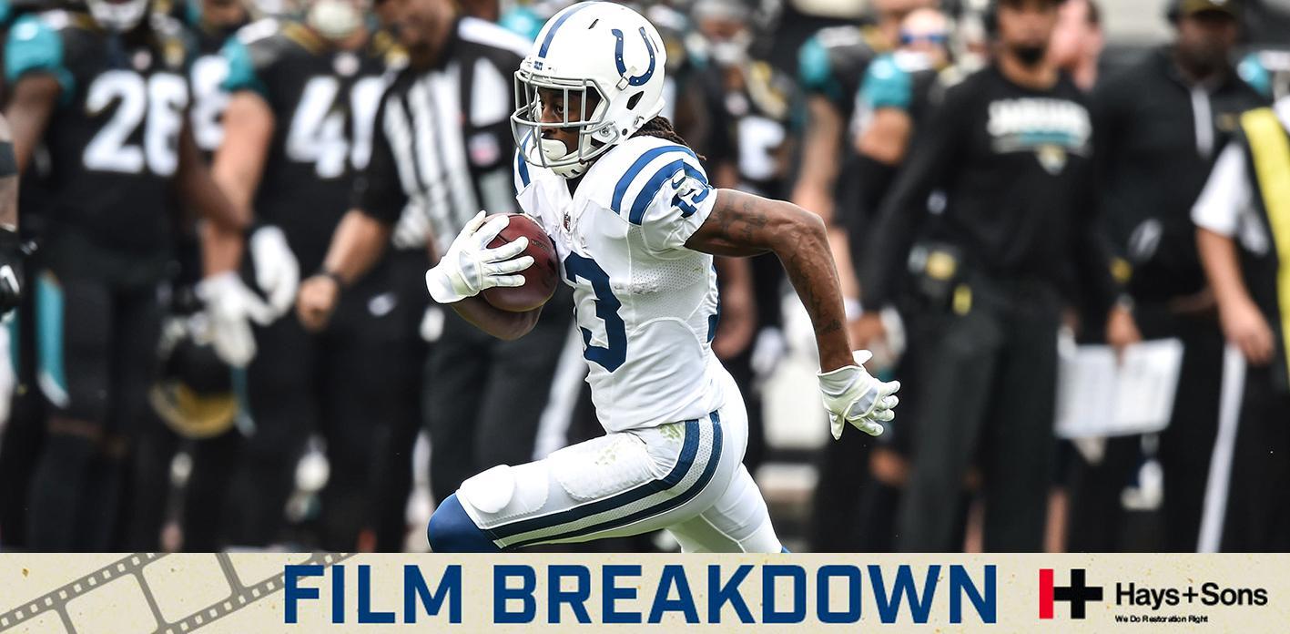 [FILM BREAKDOWN] Brissett to Hilton 40-Yard Touchdown