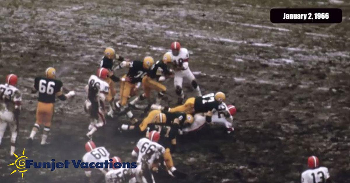 Memorable moments in Packers-Browns history
