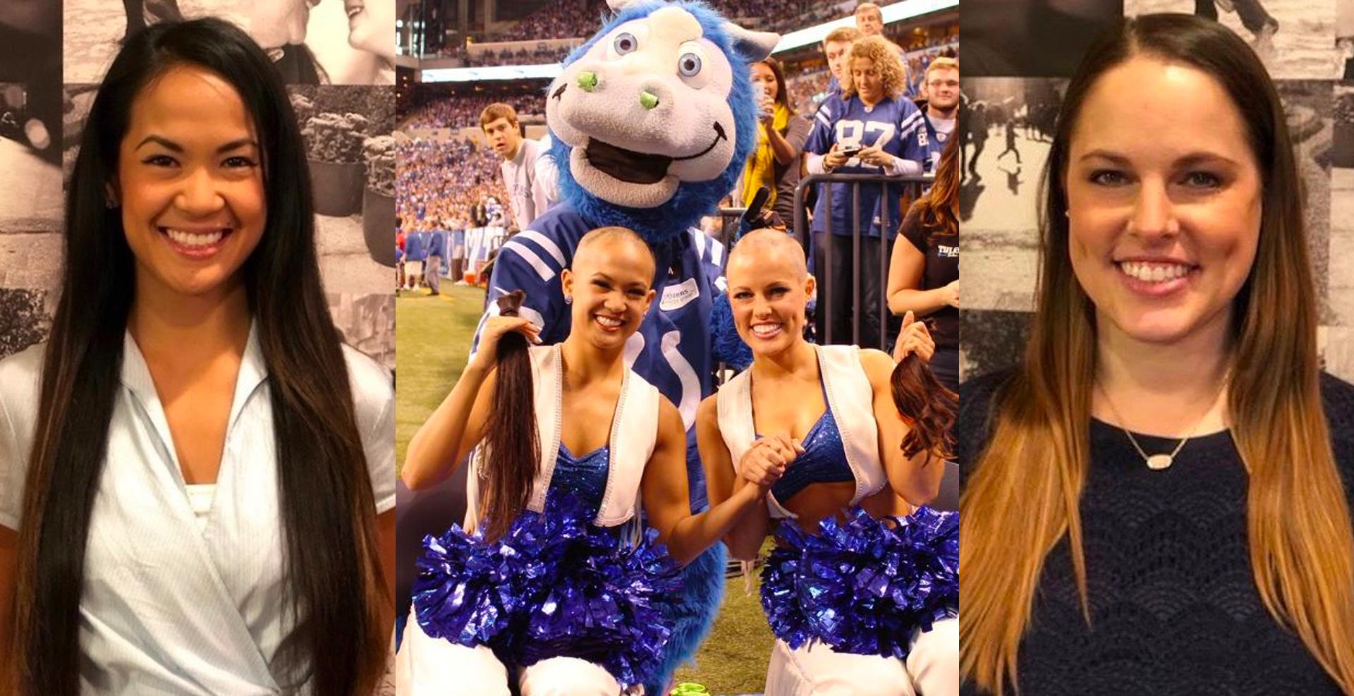 [DETAILS] Five Years After Chuckstrong, Former Colts Cheerleaders Donate Their Hair