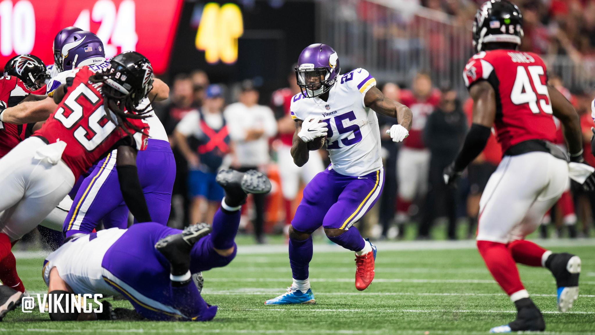 Lunchbreak: Vikings Have Forged Historical Turnaround in Run Game