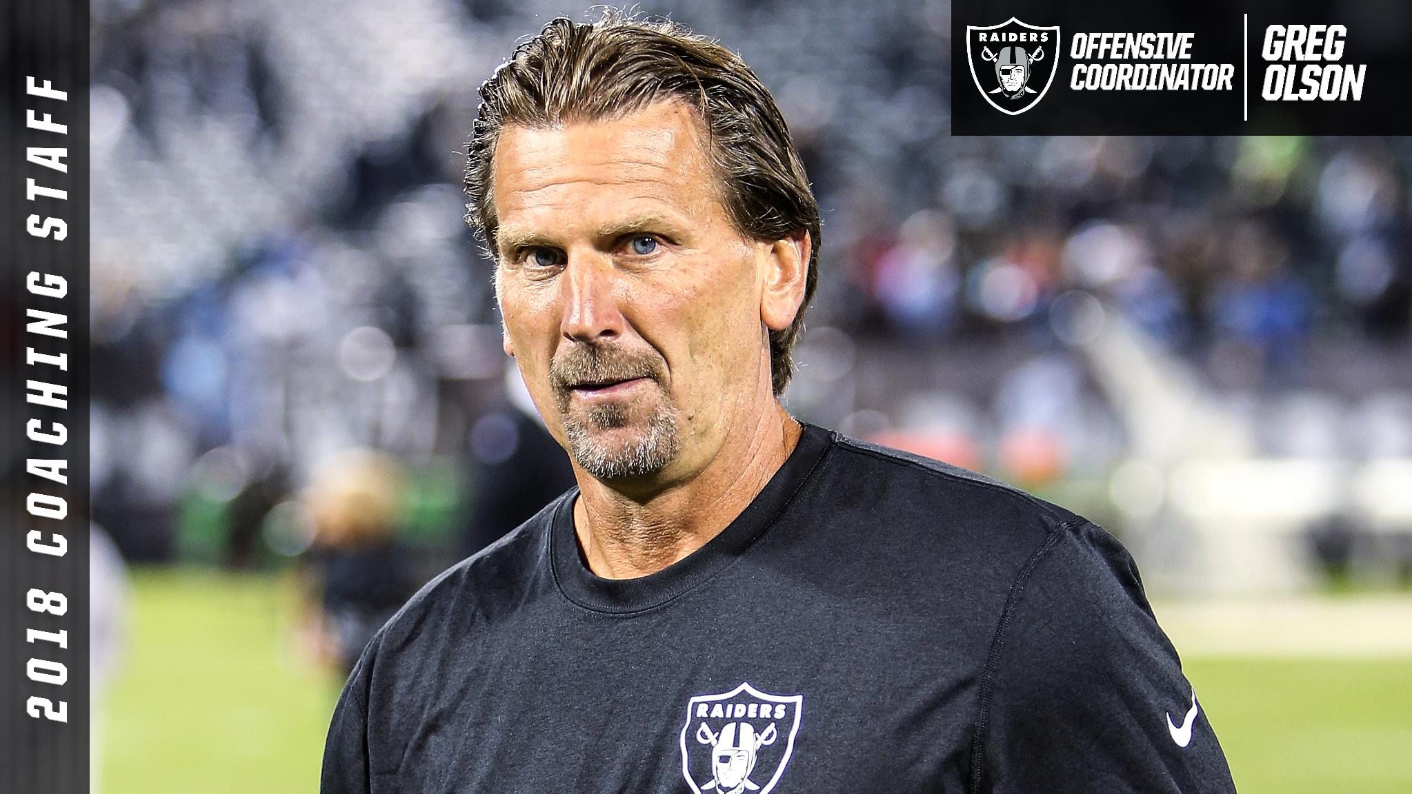 Raiders Name Greg Olson Offensive Coordinator