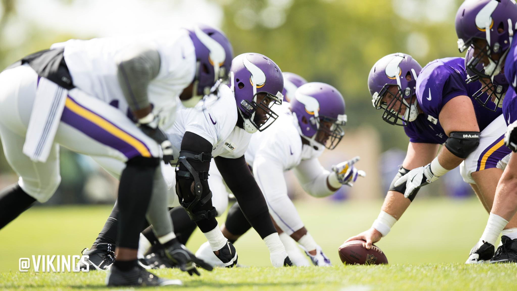 Lunchbreak: Vikings Could Add Depth on Offensive, Defensive Lines