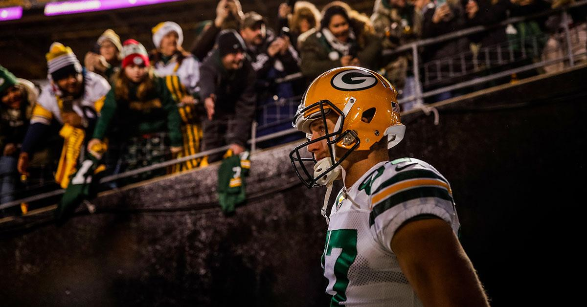 Memories of moments paint Jordy Nelson's portrait