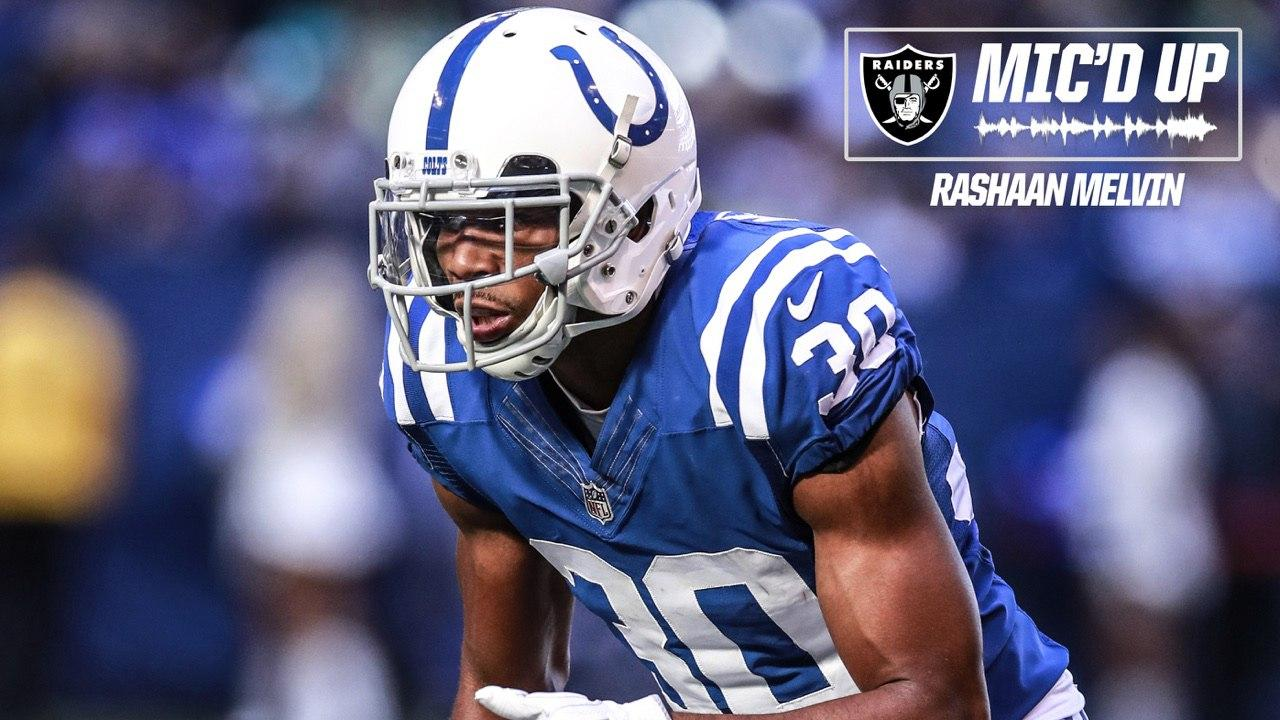 Listen: Rashaan Melvin, Mic'd Up Against The Titans