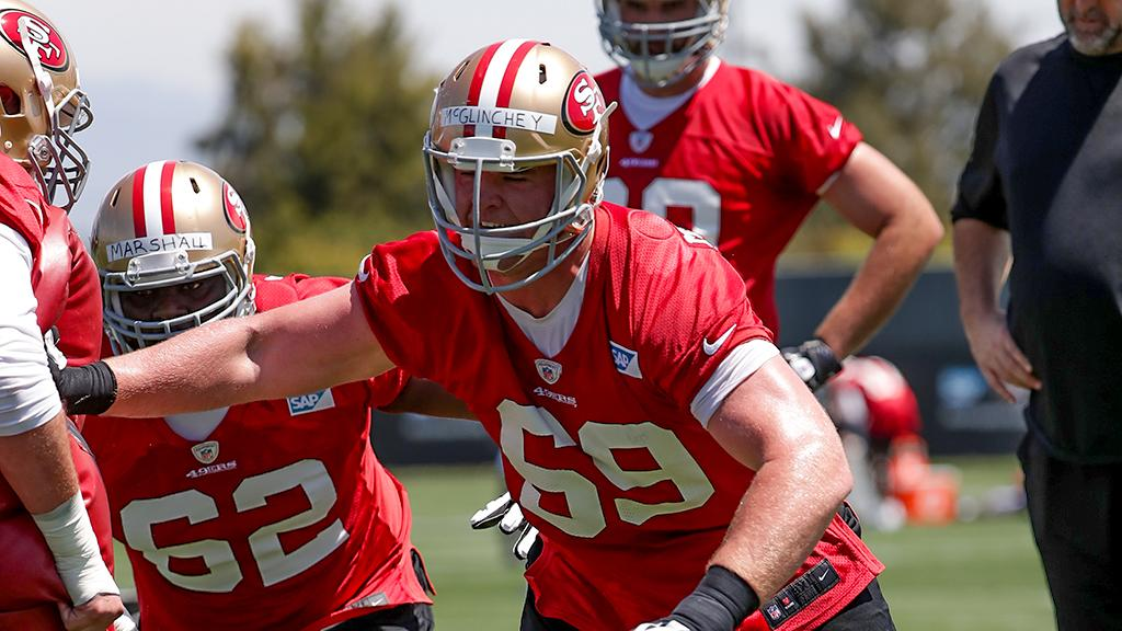 NFLN: John Lynch Calls Mike McGlinchey A 'Plug and Play' Right Tackle